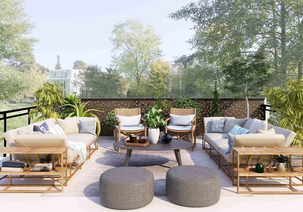 Móveis de jardim: renova a decoração de exterior com estas dicas title