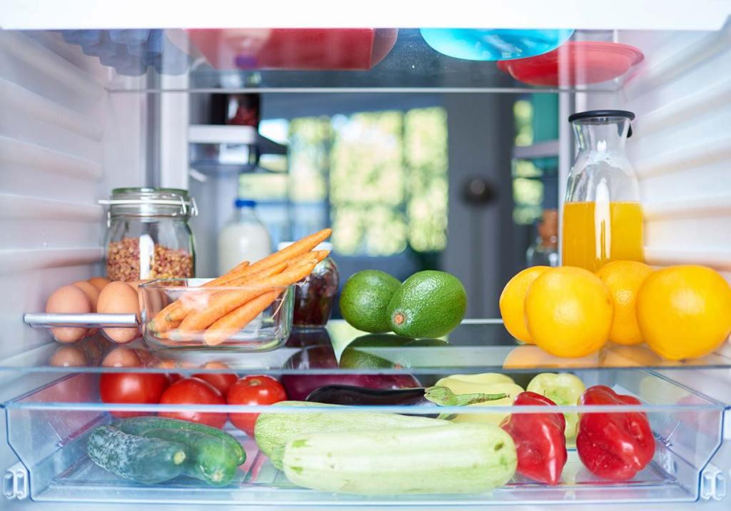 Organizar frigorífico: truques para o manter limpo e arrumado title