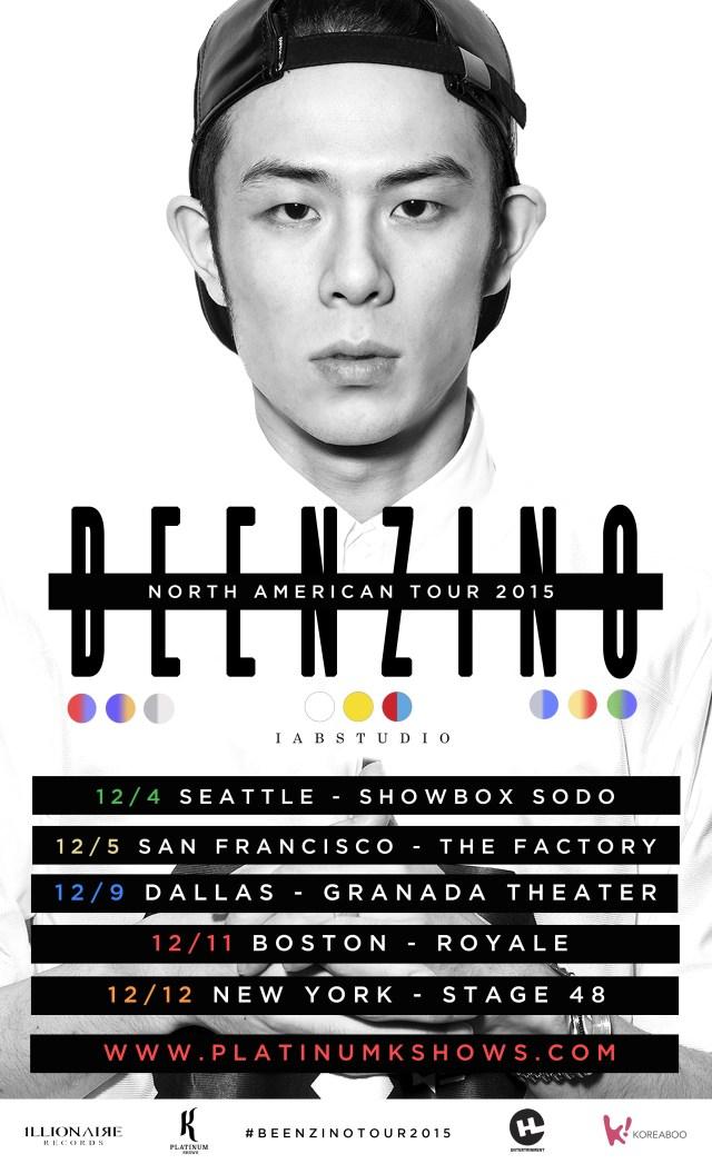 beenzino tour 2015
