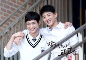 Best bromance of 2015 - Lee Won Geun and Ji Soo.
