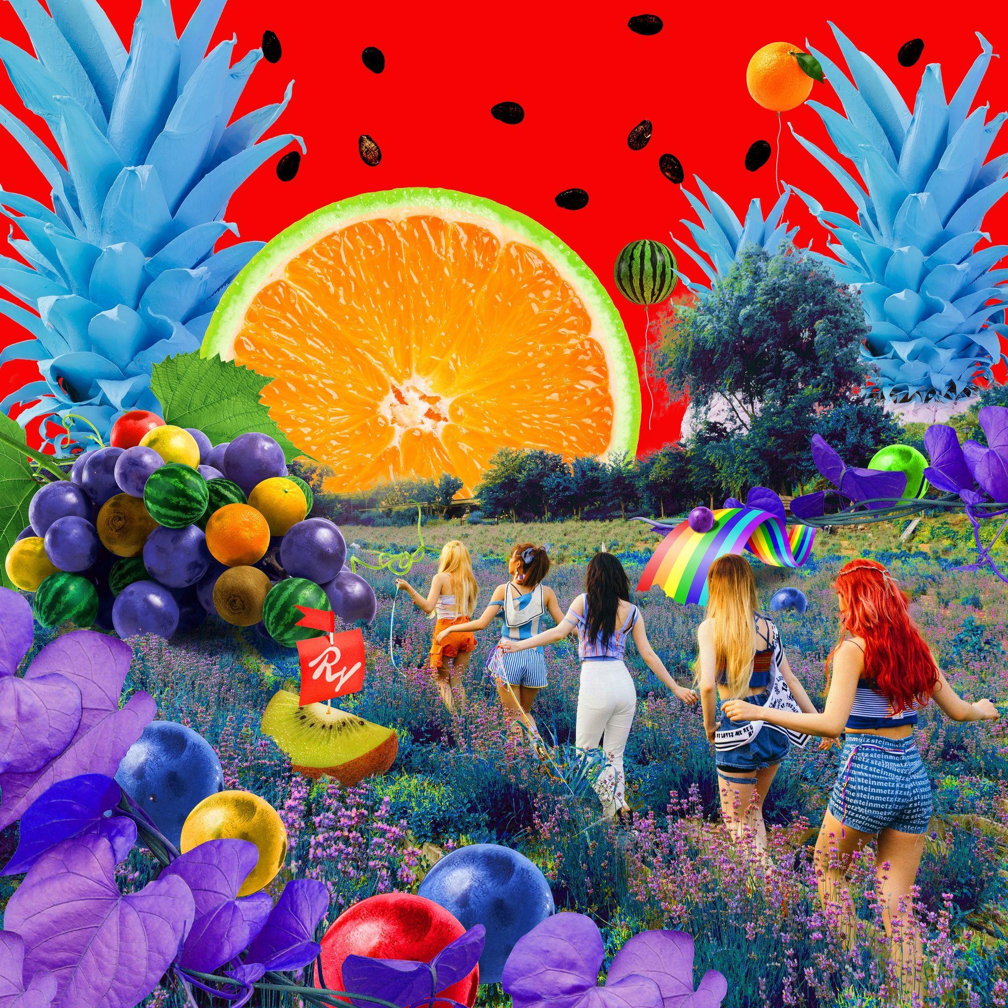 Imagini pentru red velvet the red summer copert