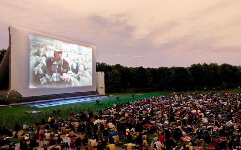 Cinéma plein Air Villette 2018