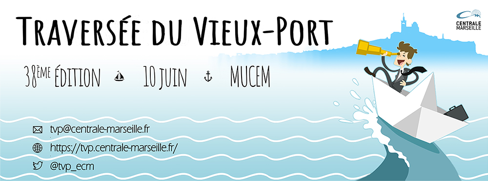 Affiche Traversée du Vieux-Port