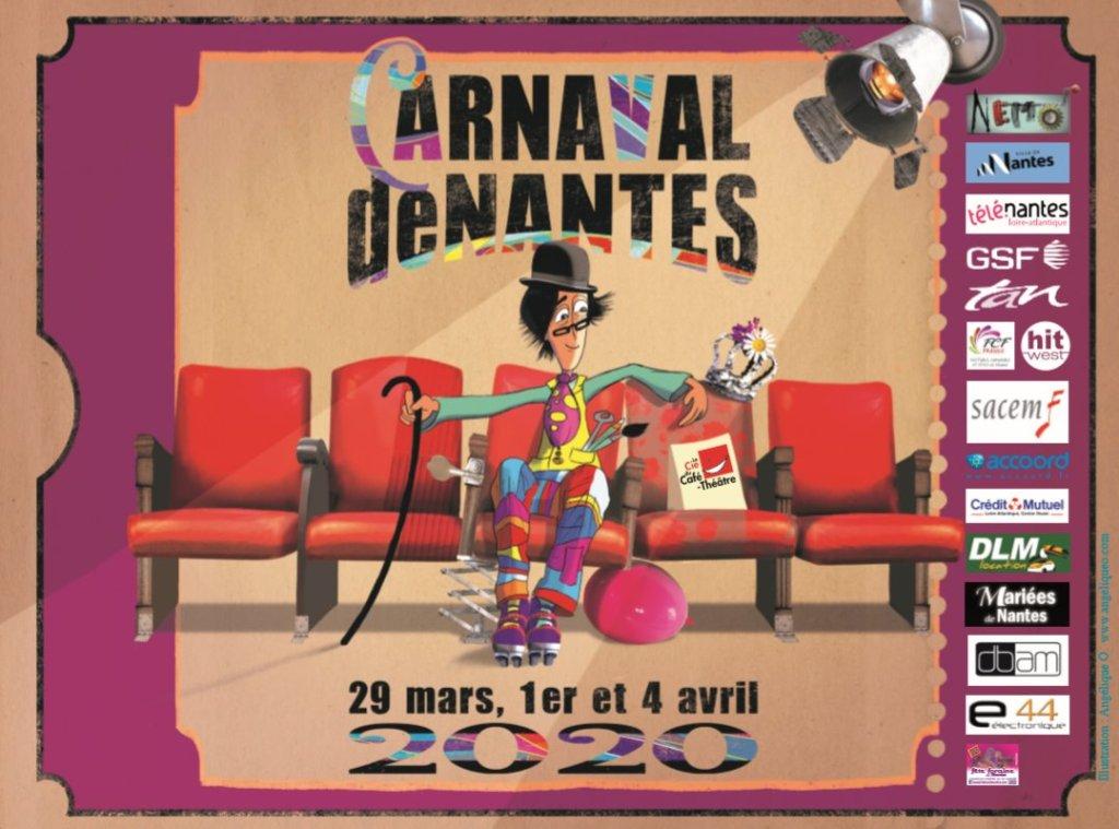 affiche du carnaval de Nantes