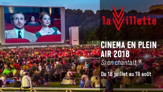 Couverture du cinéma plein air à la Villette
