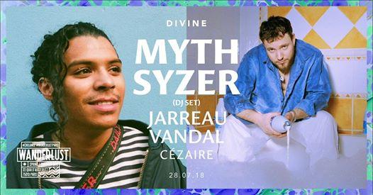 Affiche Myth Syzer live au Wanderlust
