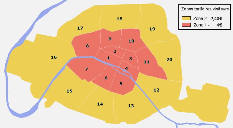 Nouvelles Zones Stationnement