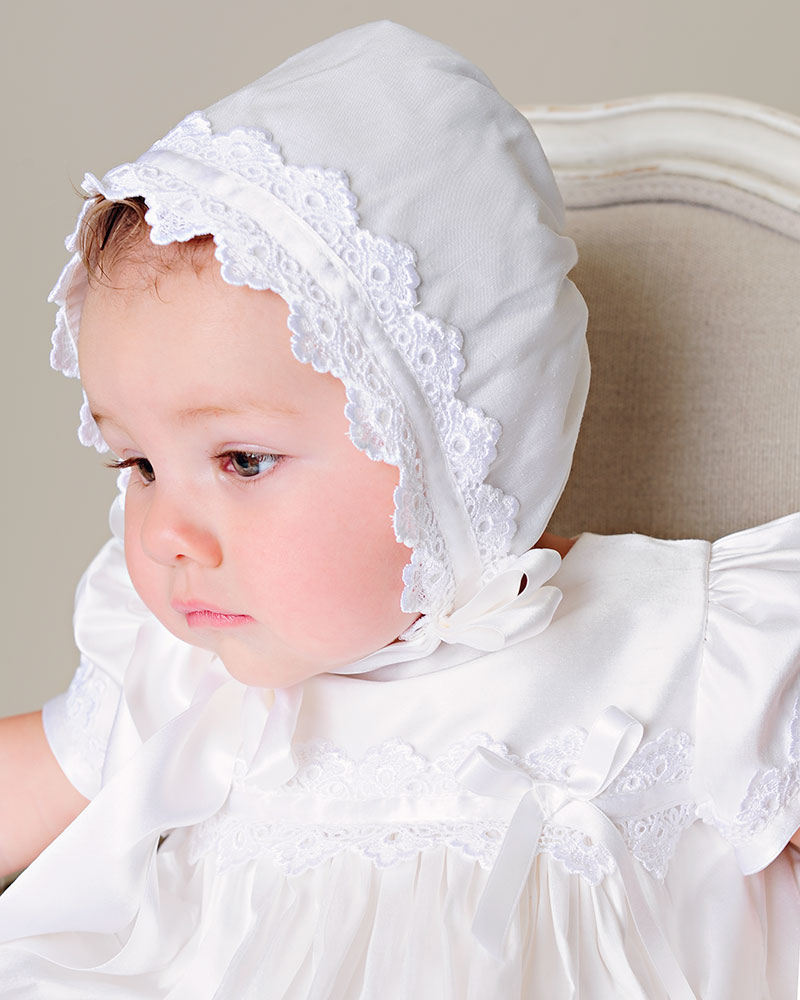 Mariana Christening Silk Gown