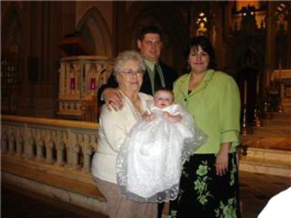 Shamrock Organza Christening Gowns
