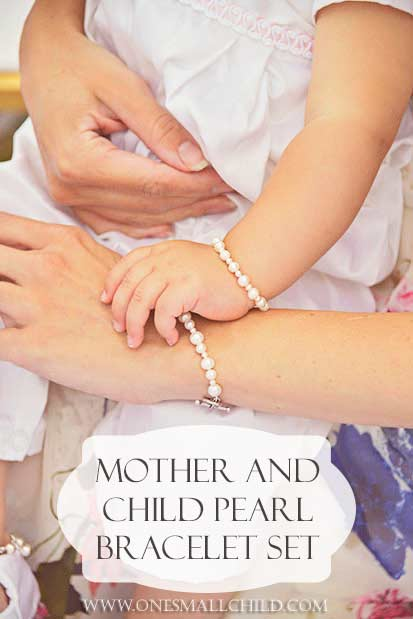 Mother and Child Bracelet Set