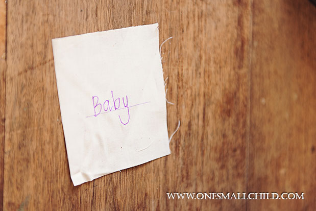 Lavender Sachet Baby Name