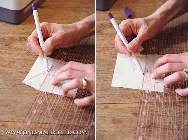 Lavender Sachet Tutorial Mark Cross Step 2