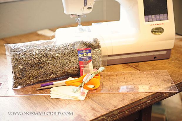 Lavender Sachet Materials