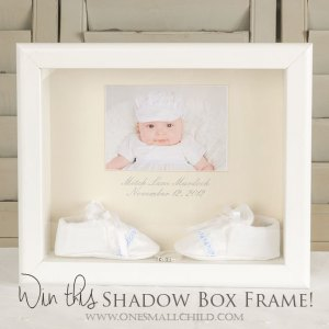 Shadow Box Frame | Christening Gifts