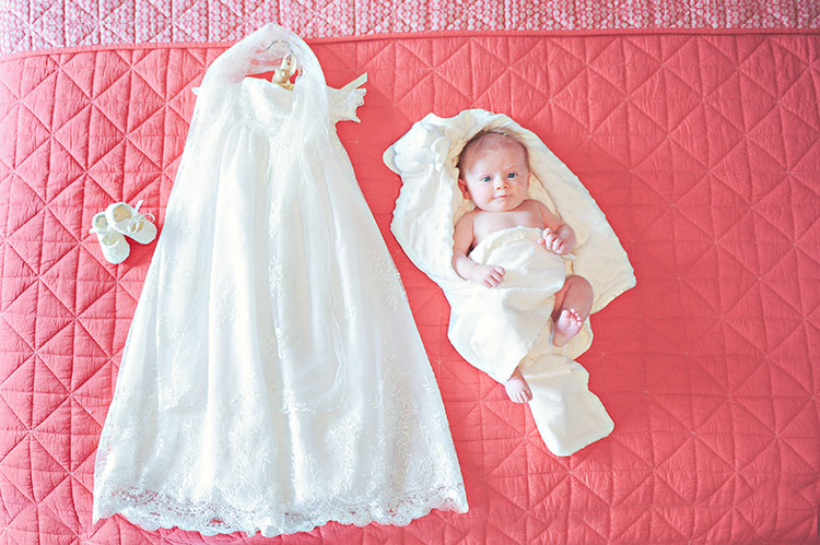 Ivory Lace Blessing Gowns | Christening, Baptism Gowns at One Small Child