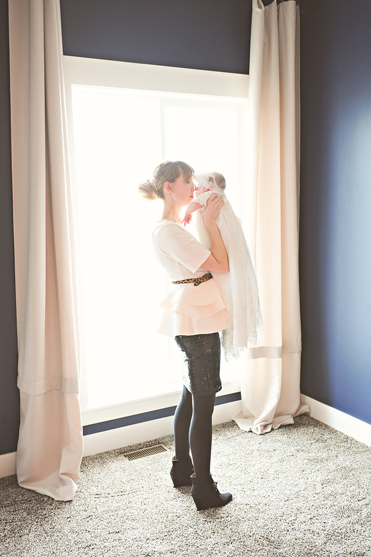 Mama's Girl | Ideas for Christening, Baptism, Blessing Portraits at One Small Child