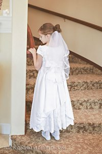 Miss Hannah First Communion Dresses | One Small Child