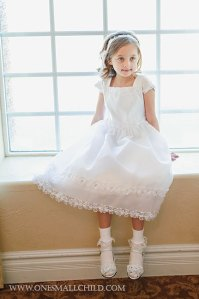 Miss Natalie First Communion Dresses | One Small Child