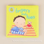Adorable Fingers and Toes Baby Book at One Small Child