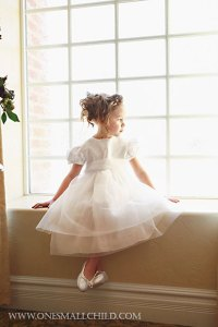 Miss Mallory at One Small Child   Flower Girl Dresses