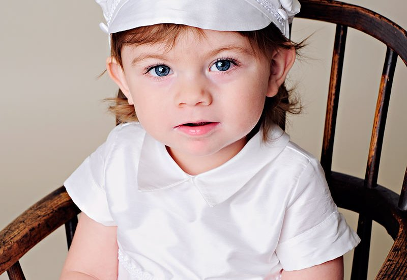 William Silk Christening Gown