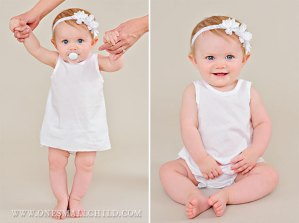 Christening Accessories-Shortie Slip and Bloomers
