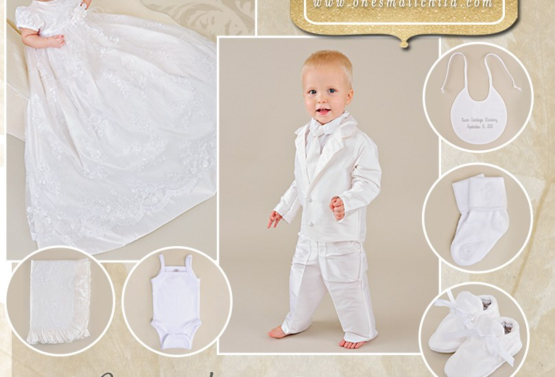 November Giveaway | Christening Gowns and Outfits by One Small Child