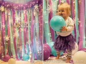 Winter 'One'derland First Birthday Party