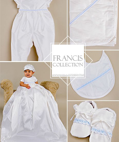 Looking to make a statement? The Francis is one of the Ultimate Christening Outfits from OneSmallChild.com