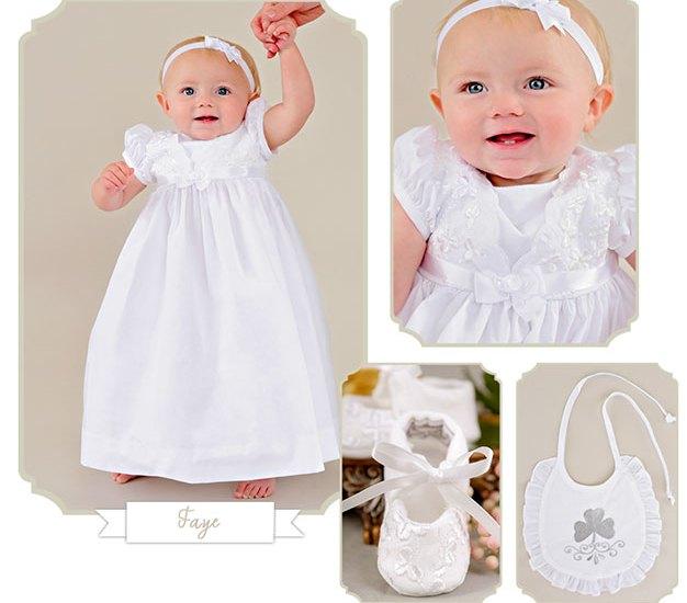 Faye | Irish Christening Wear from One Small Child