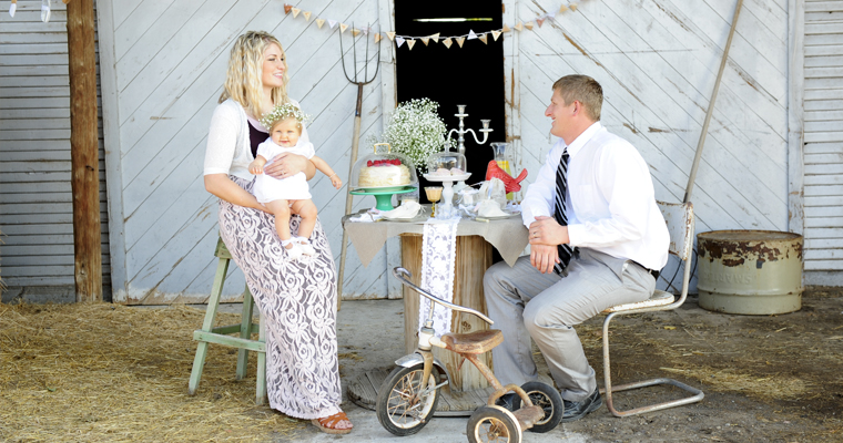 A Vintage Inspired Christening Party – Revisited