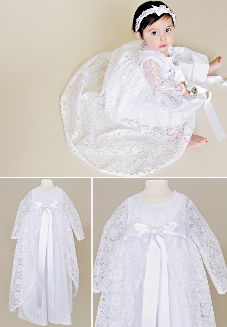 Kylie Christening Jacket for baby