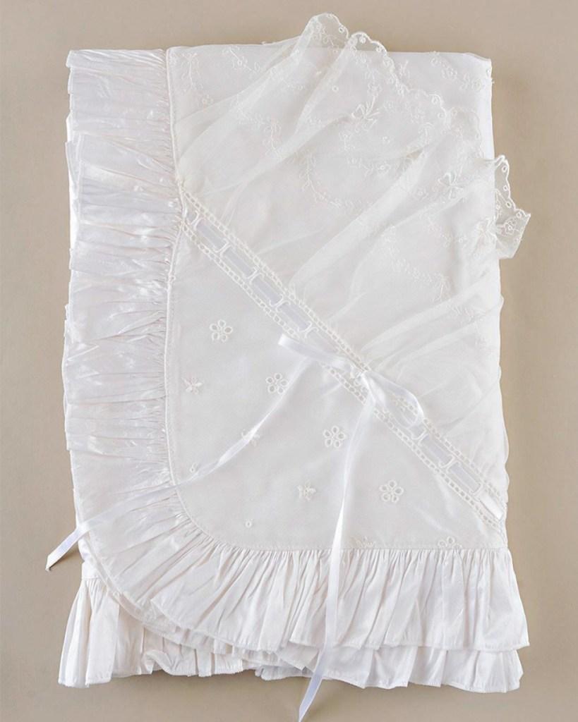Natalia Christening Blanket