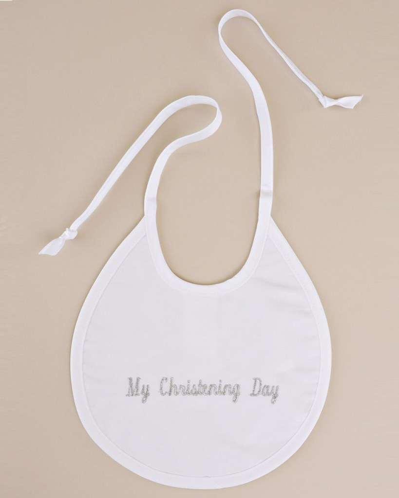 My Christening Bib