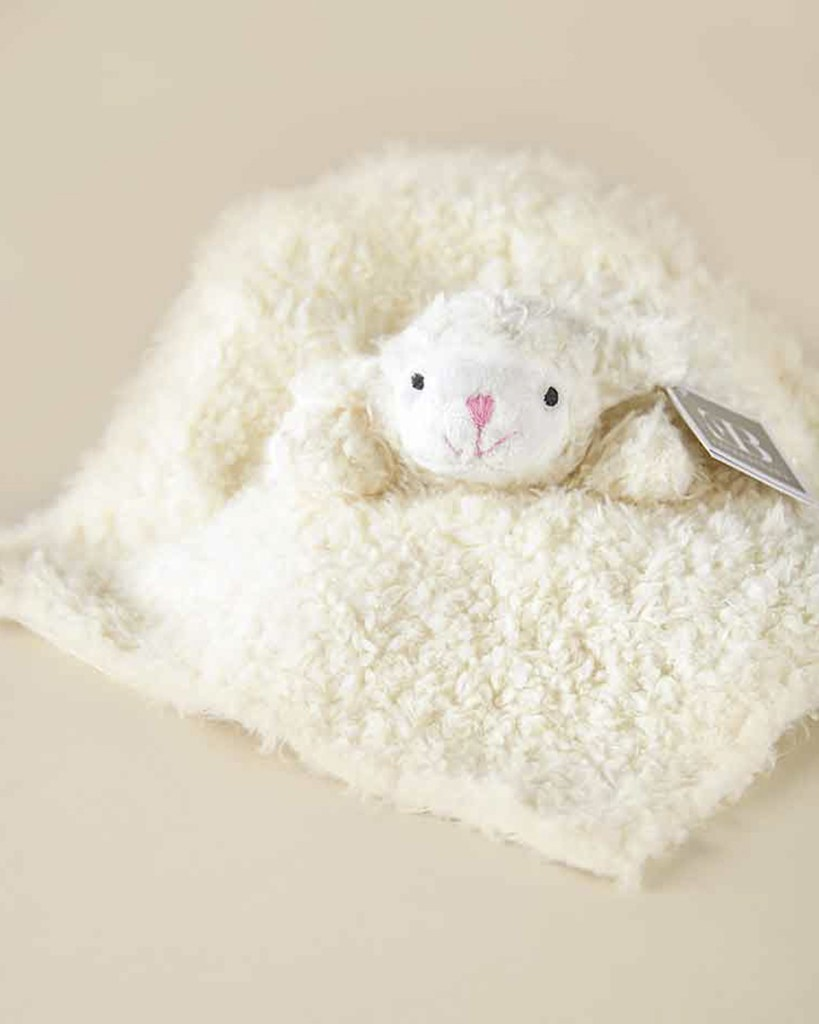 Mini Lamb Cuddle Blankie
