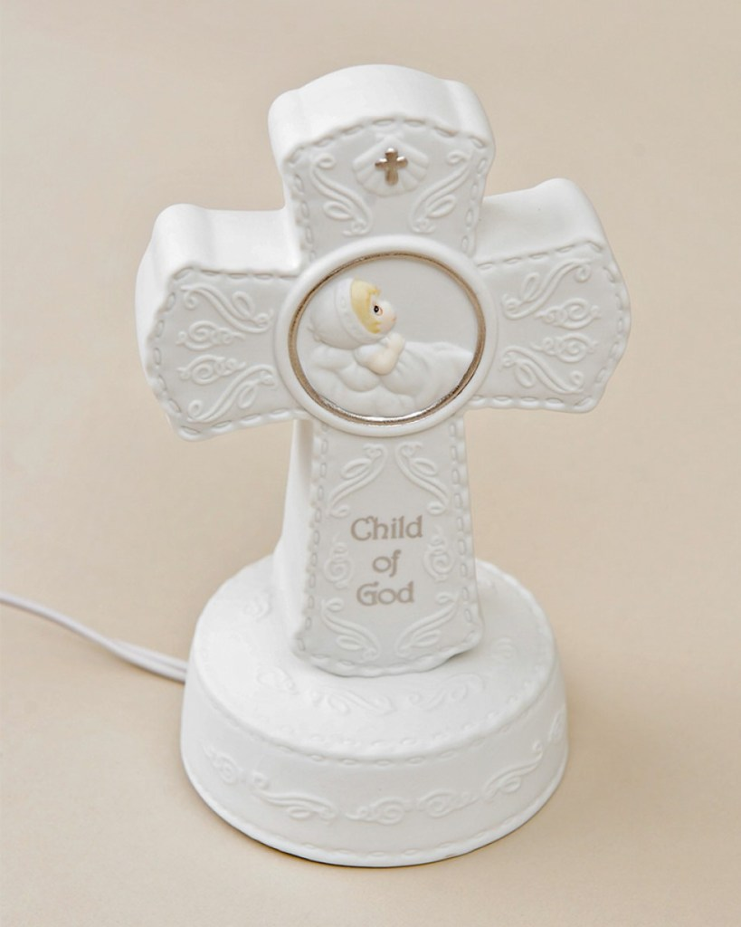 Precious Moments Child of God Cross Night Light