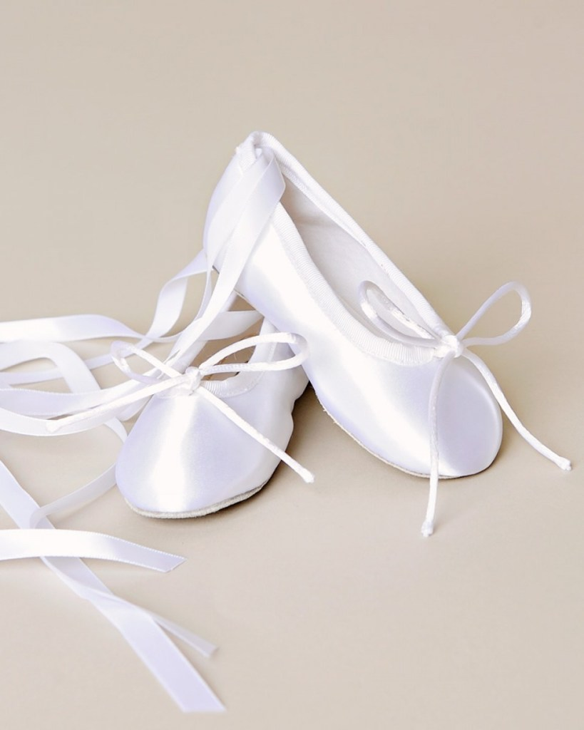 Ribbon Ballet Slippers
