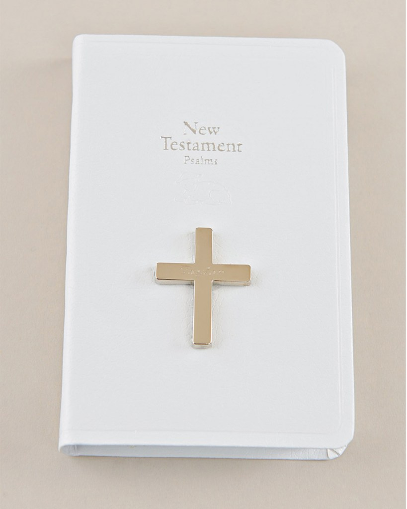 White Mini New Testament