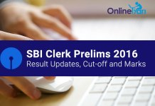 SBI Clerk Prelims Exam Updates 2016