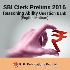 SBI Clerk Reasoning Online Mock Test 2016