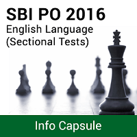 SBI PO Mock Test Series English Language Info Capsule