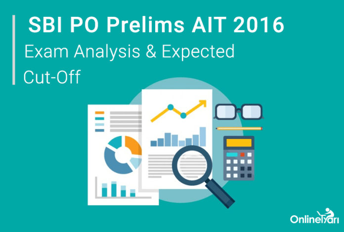SBI PO Prelims All India Test 2016 Result Exam Analysis