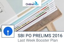 SBI PO Prelims Last Week Booster Plan for Written Examination