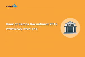 Bank of Baroda Manipal PO Recruitment 2016