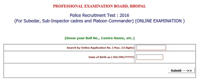 MP-Police-SI-Admit-Card