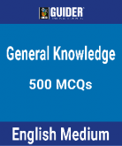 General Knowledge 500 MCQ
