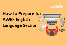 How to Prepare for AWES English Language Section
