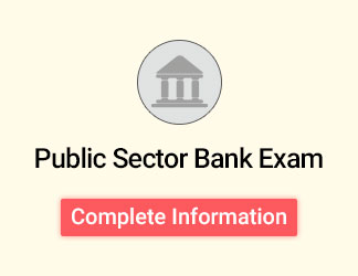 Public Sector Bank Exams