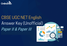 CBSE UGC NET English Answer Key: Paper II & Paper III (Unofficial)