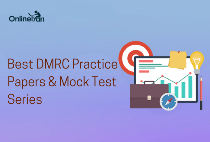DMRC Mock Test Series 2016: Practice RRB Sample Papers